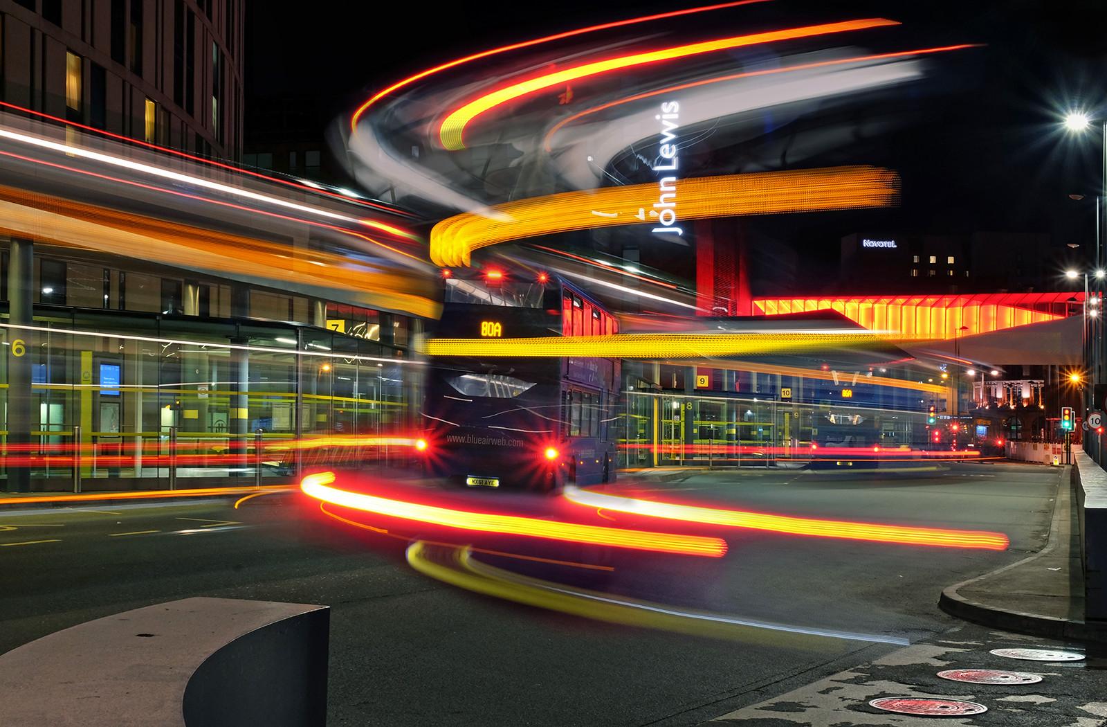 PDI - Bus Station by Brian Mason ( 10 marks)