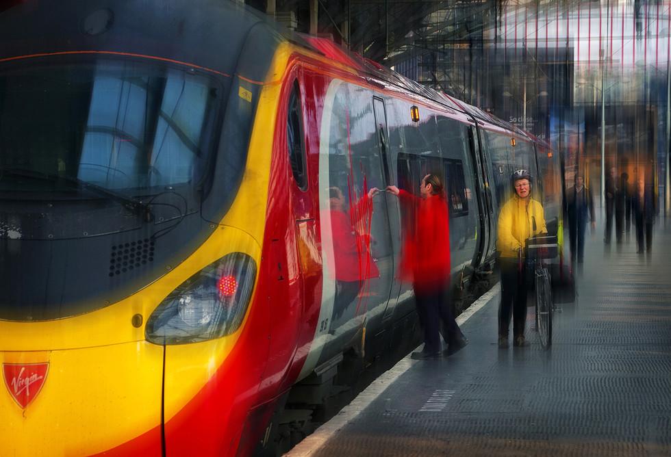 COLOUR - Train Travel by Brian Mason ( 8 marks)