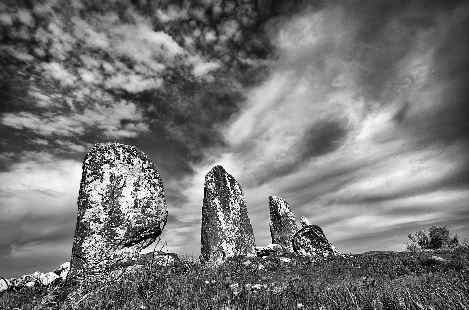 MONO - Standing Stones by Kieran D Murray (10 marks)