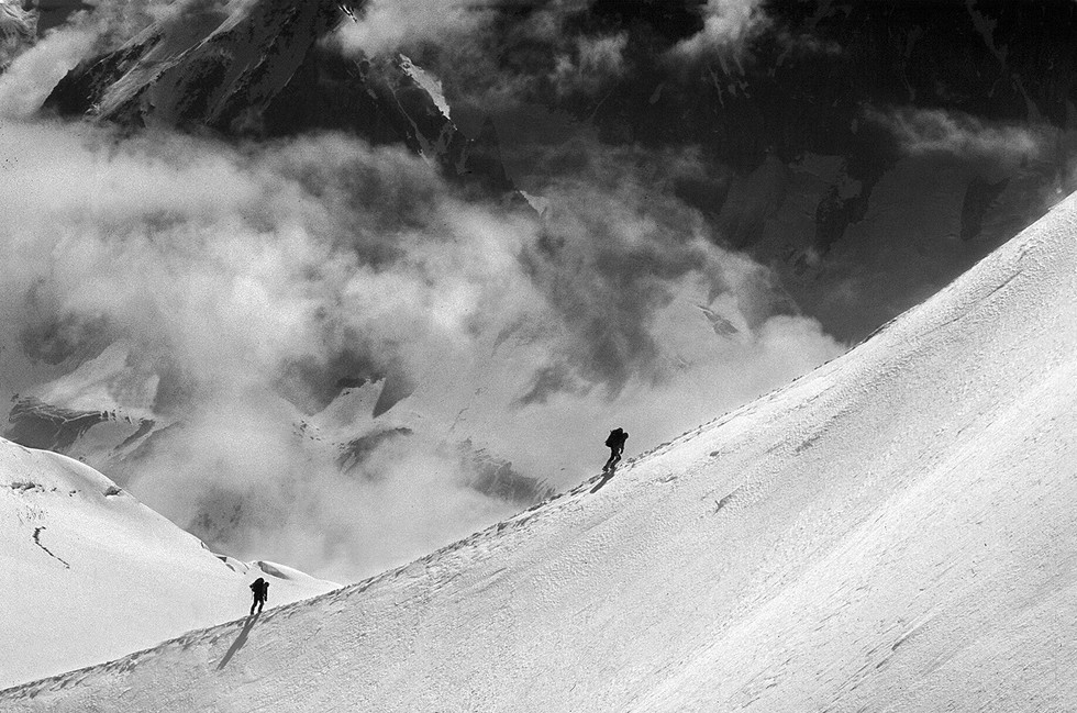 MONO - On the Slopes of Mont Blanc by Kieran D Murray (10 marks)
