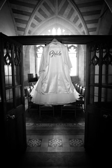 Dress waiting in anticipation