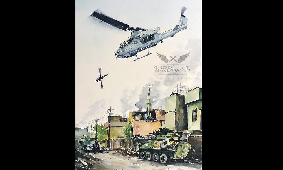 AH-1W Cobra - Close Air Support