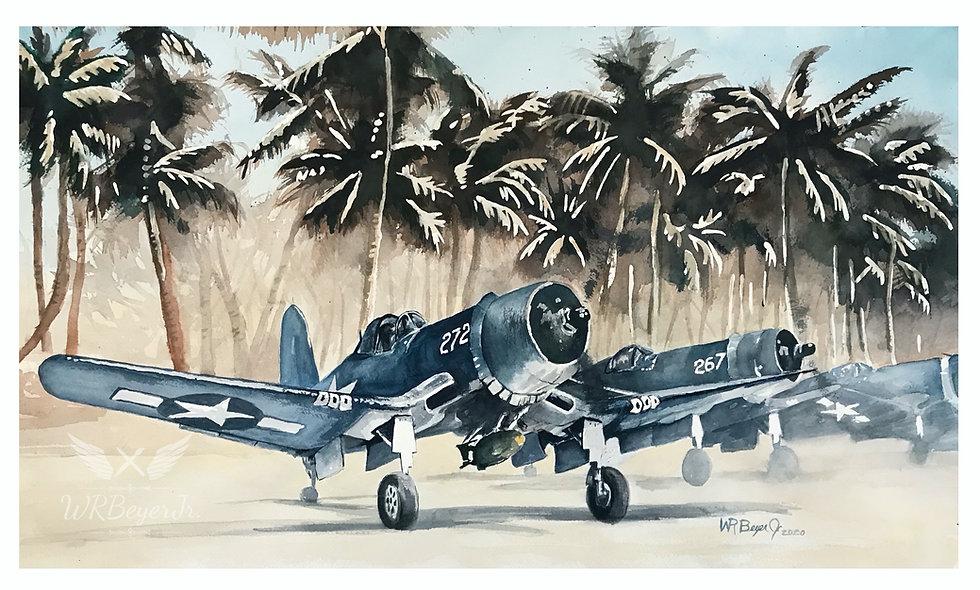 F4U Corsairs