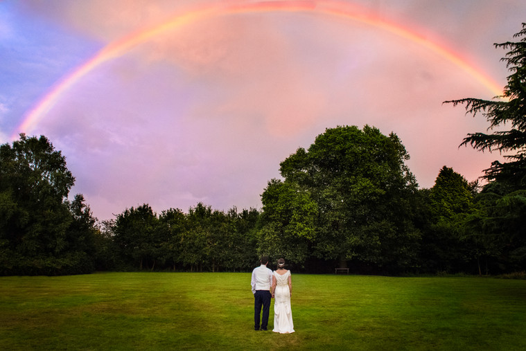 Genuine lucky rainbow!