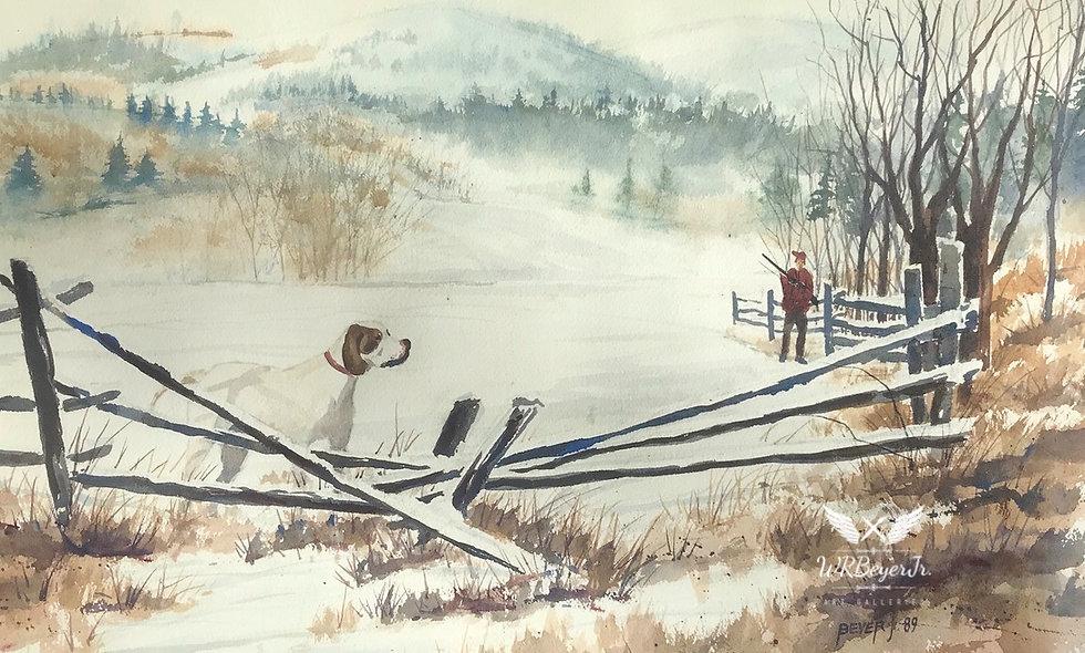Hunting Dog, Mountains