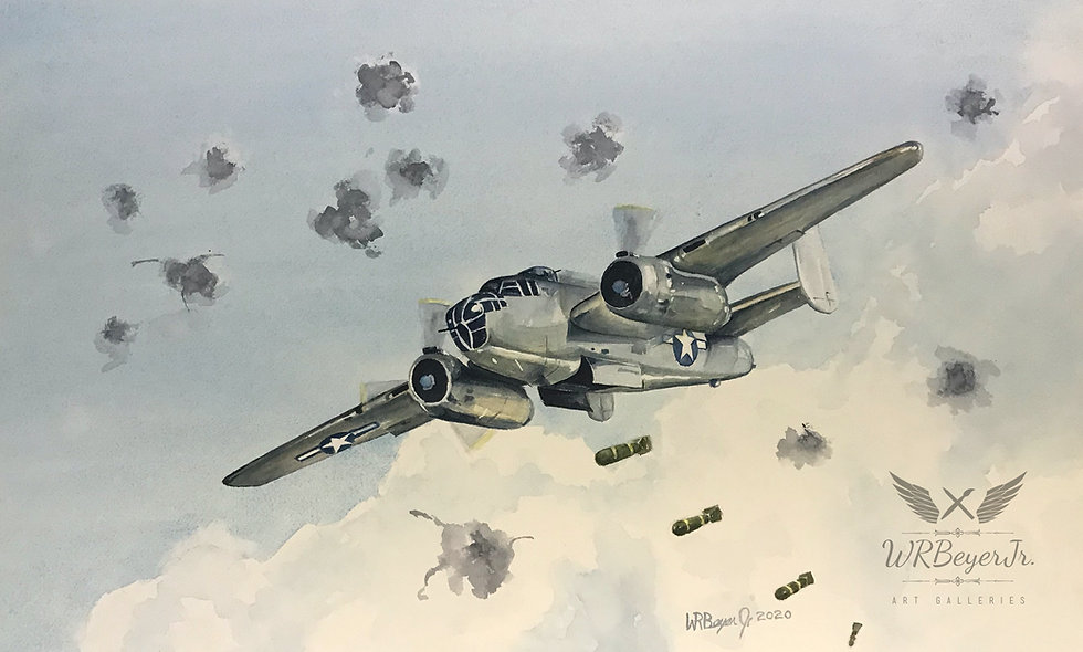 B-25 Bombing Run