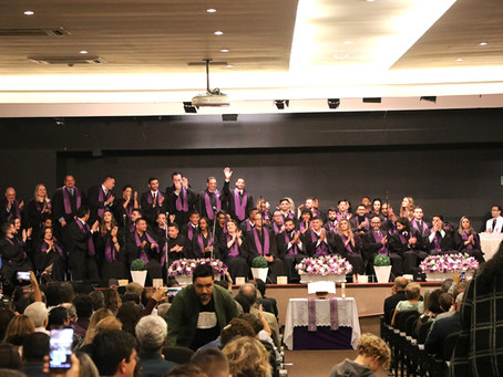Culto de Envio e Cerimônia de Formatura do curso de Teologia 2018