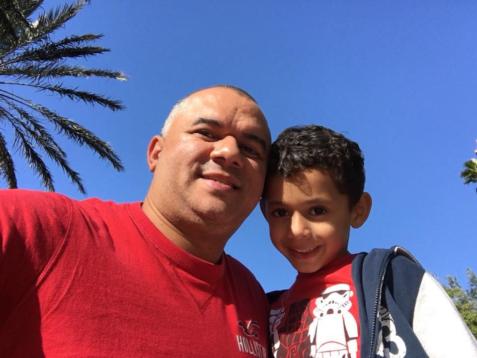 Renê e filho