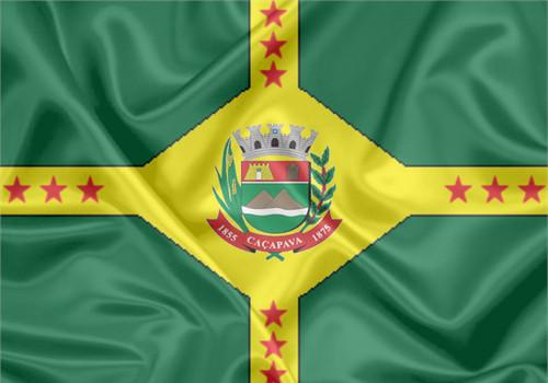 Bandeira da cidade de Caçapava/SP