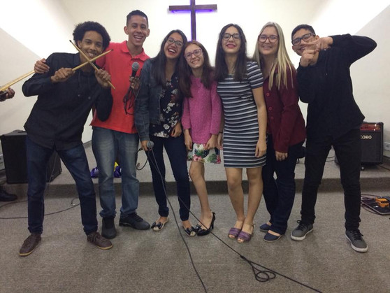 Juvenis da Igreja Metodista em Carapicuíba