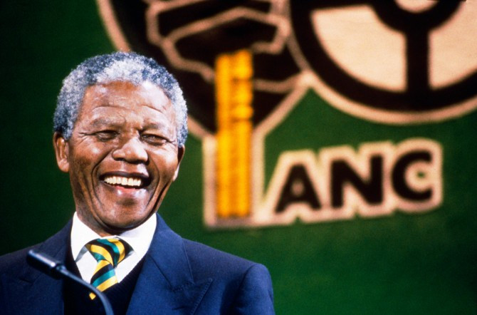 Mandela no CNA