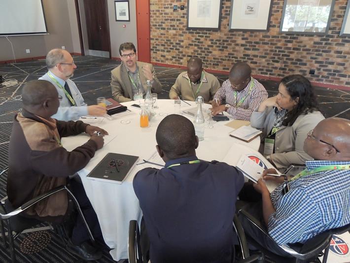 Líderes avaliam trabalho em Joahnnesburgo - 2015