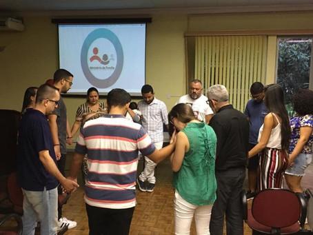 O Ministério da Família acolhe os novos seminaristas na Fateo
