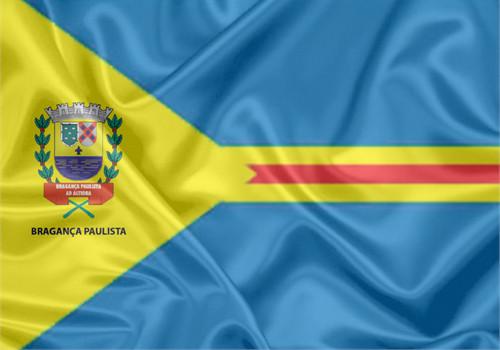 Bandeira da cidade de Bragança Paulista/SP