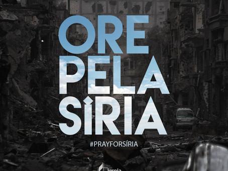 Orai pela Paz na Síria...