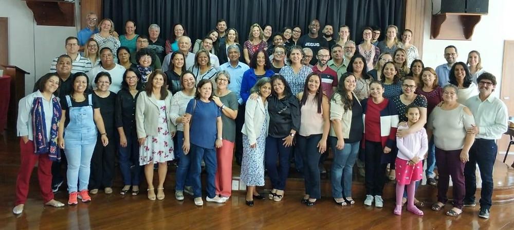 Grupo participante do Ad Oração Central 2019