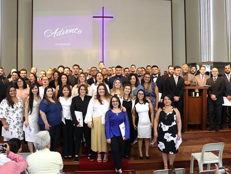 Culto de Credenciamento dos Pastores Acadêmicos, consagração dos MDs Aspirantes ao Presbiterado 3ªRE