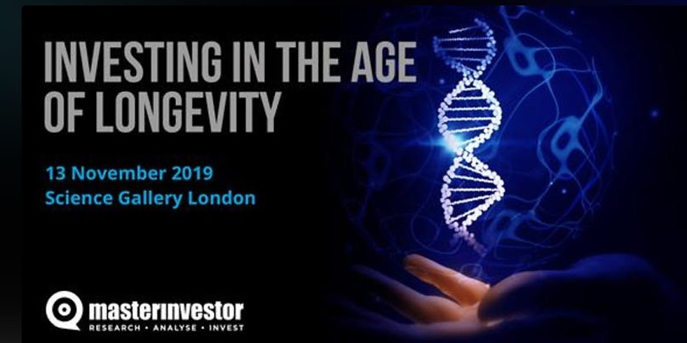 Investing in the Age of Longevity One-Day Masterclass