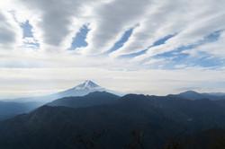 滝子山 から富士山
