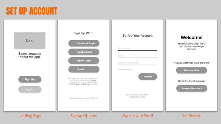 Set Up Account