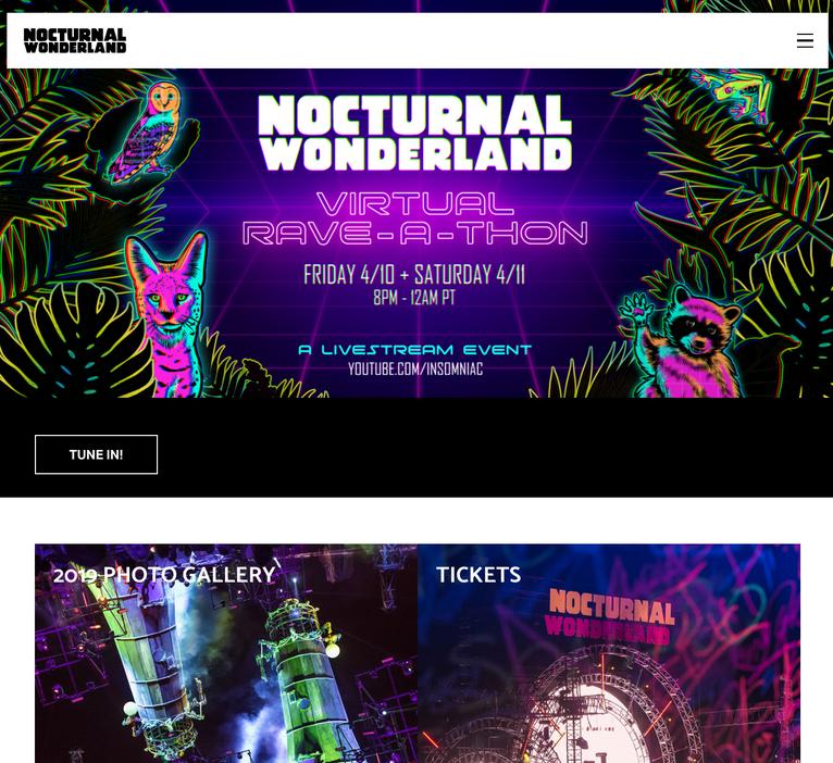 Nocturnal Wonderland