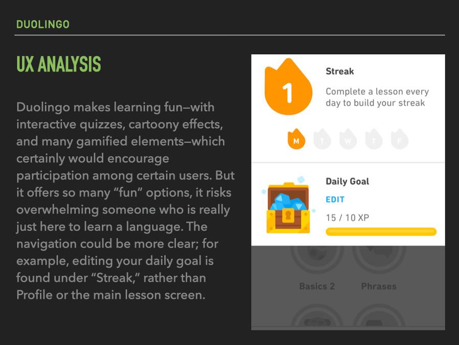 Duolingo: UX Analysis