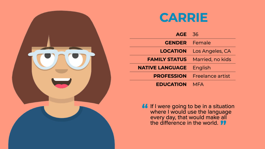 Carrie profile