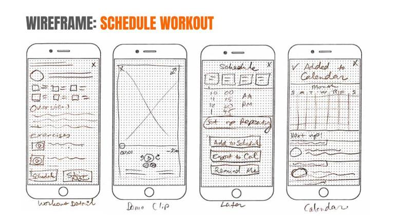Schedule Workout