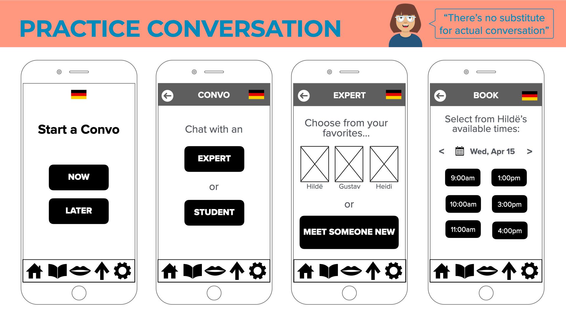 Practice Conversation