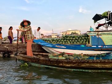 Le delta du Mekong, ciao le Vietnam!