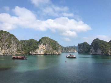 Les baies d'Halong : Cat Ba et Nin binh