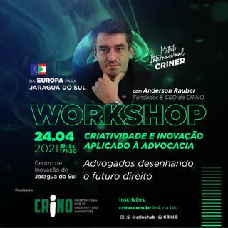 WORKSHOP DE CRIATIVIDADE PARA A INOVAÇÃO APLICADO À ADVOCACIA.