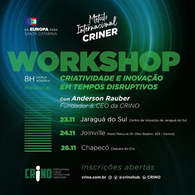 Workshop de Criatividade e Inovação