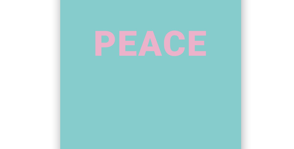 Poster - Peace