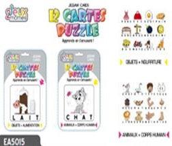 CARTES PUZZLE MOTS