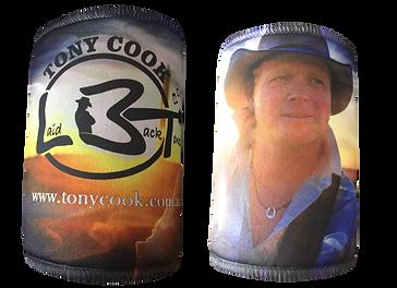 Laiback Tone Tony Cook Stubby Cooler