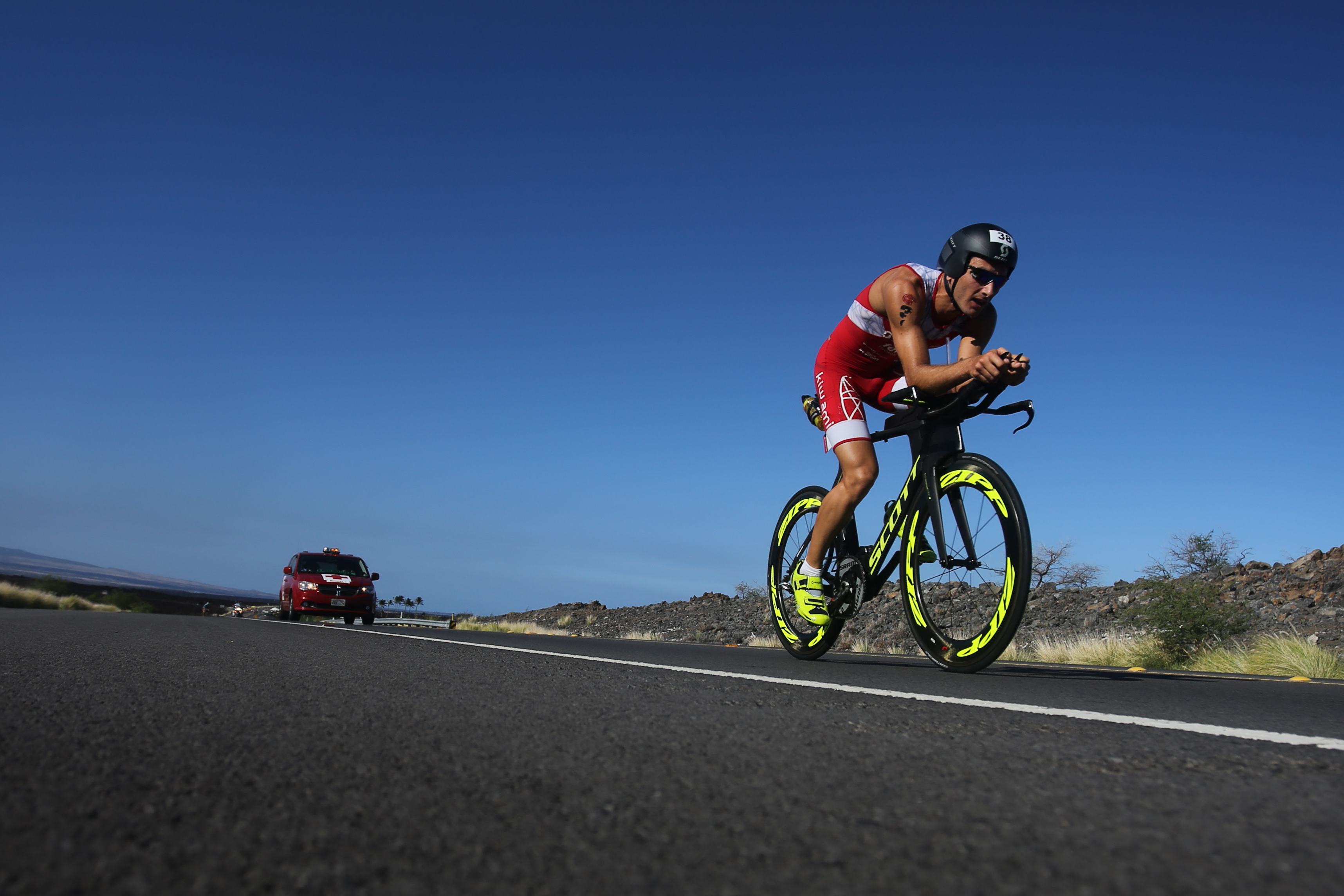 Vélo  IRONMAN HAWAII