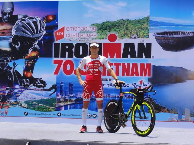 Poursuite de la saison à l'IRONMAN 70.3 Vietnam