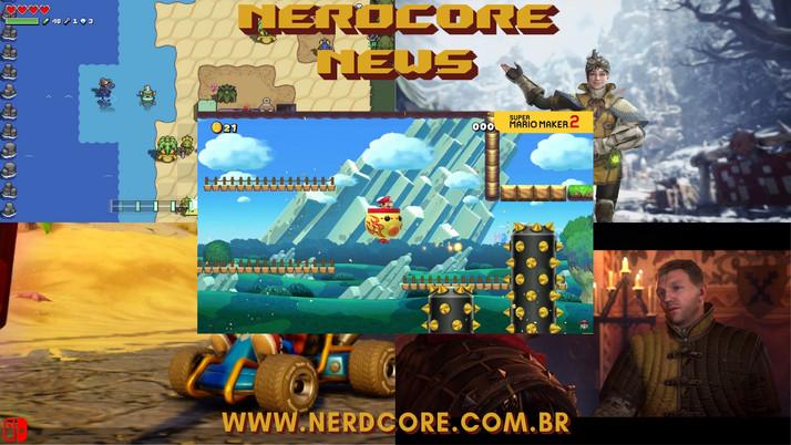 NERDCORE NEWS: Game Trailers (29/06/2019)