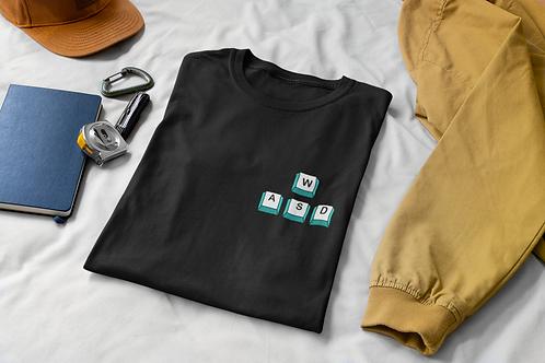 WASD Gamers; Gaming T-Shirt (Chest Pocket)