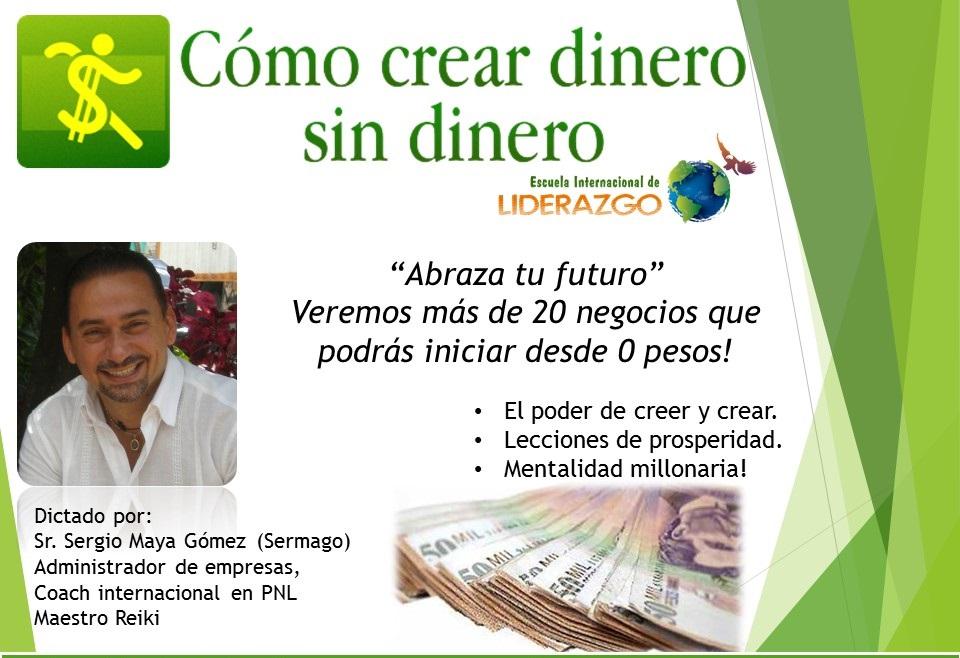 Conferencia Dinero sin Dinero