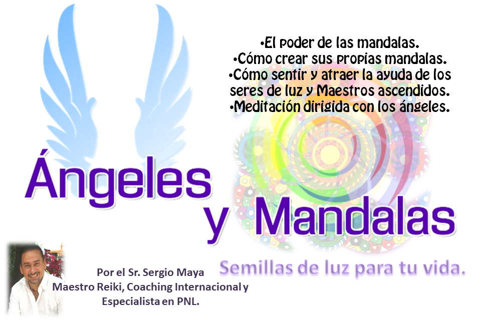 Angeles y Mandalas