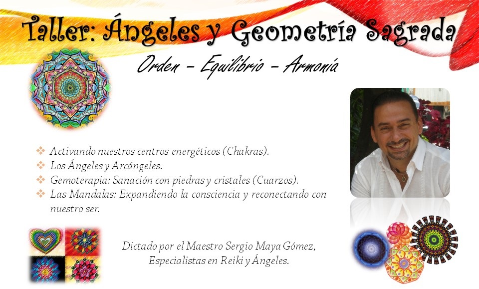 Evento Angeles y Geometria sagrada
