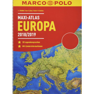 MARCO POLO Maxi-Atlas 2018/2019