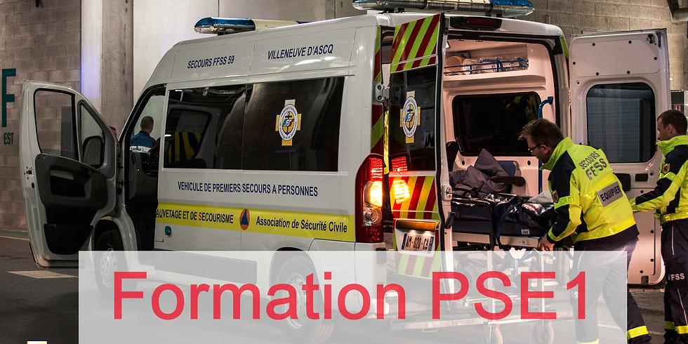 PSE1: premiers secours en équipe de niveau 1