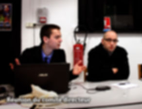 Réunion Comité Directeur FFSS 59