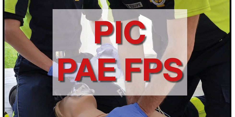 Formation PIC PAE FPS (Formateur PSE)