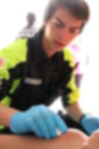 FFSS intervention sur blessure