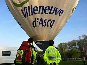 FFSS en dispositif de secours à villeneuve d'ascq