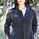 Thumbnail: Hooded front zip jacket
